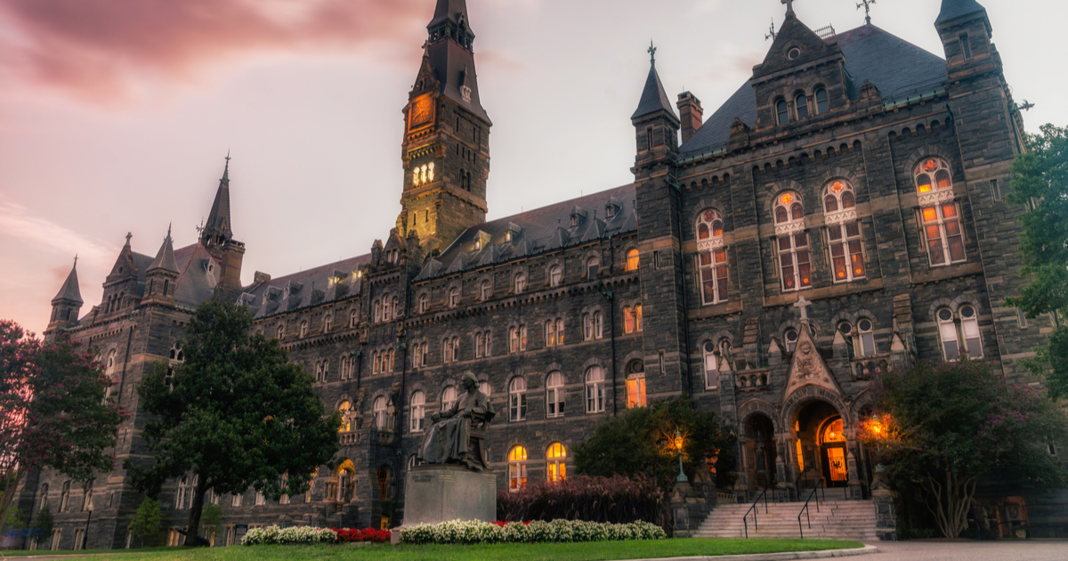 Georgetown college admissions essay
